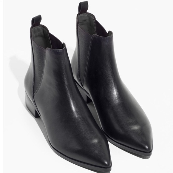 9277dc146 & Other Stories Shoes   Other Stories Black Ankle Booties   Poshmark